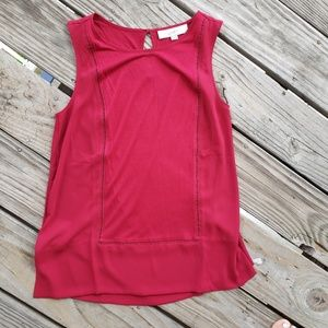 LOFT Red Tank Size Small 🇺🇸